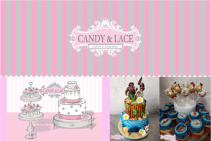 Candy & Lace Cakes